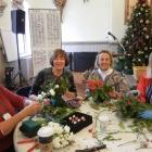 Greens Workshop: Binney, Sarah, Gale, DeeDee