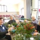 Greens Workshop: Mirta, Yvonne, Caryolyn, Karen