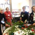 Greens Workshop: Pam, Michelle, Ann, Connie